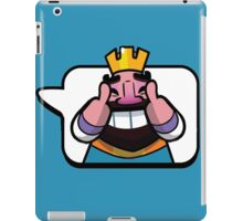 Funny Reaction - Clash royale iPad Case/Skin