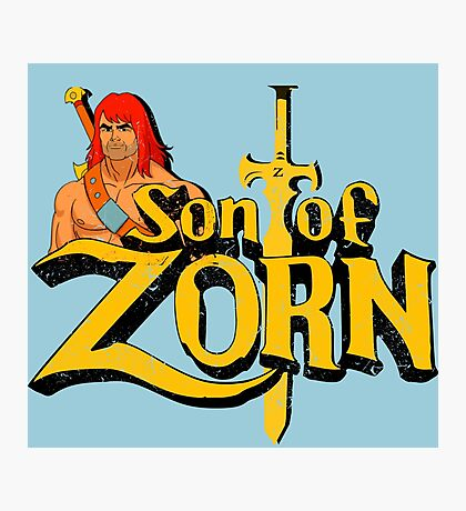 Son of Zorn - Vintage distressed Photographic Print