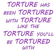 Supernatural - Crowley about Torture by yaeld