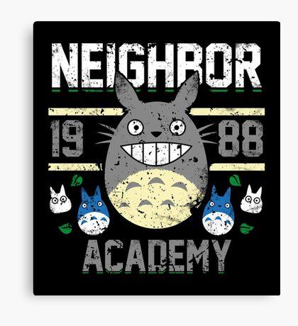 Neighbor Academy Canvas Print