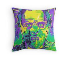 Neon Horror: Hannibal  Throw Pillow