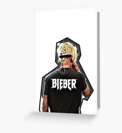 Justin Bieber iPhone Case Greeting Card