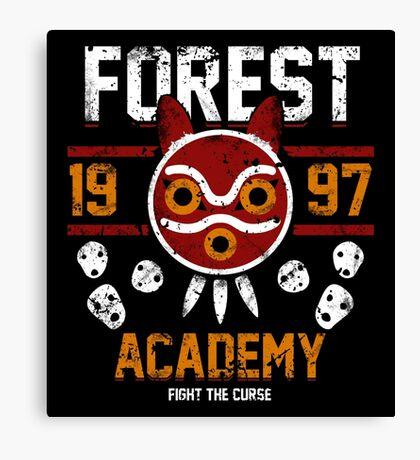 Forest Academy Canvas Print
