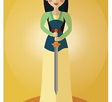 Symmetrical Princesses: Mulan by Jennifer Mark