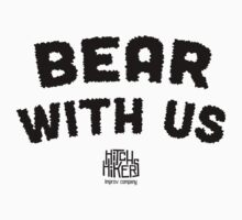 Bear With Us (Black) Kids Clothes
