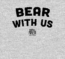 Bear With Us (Black) Unisex T-Shirt