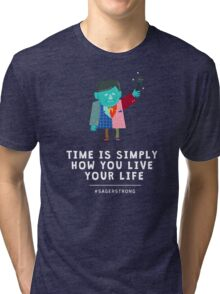 Live Your Life with Craig Sager Tri-blend T-Shirt
