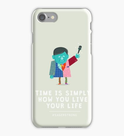 Live Your Life with Craig Sager iPhone Case/Skin