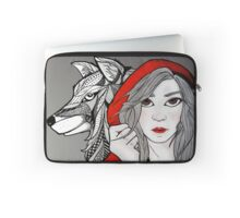 Little Red Riding Hood and the Bad Wolf Laptop Sleeve