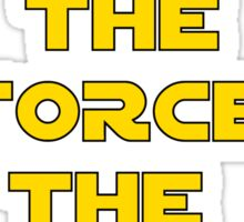 Star Wars Rogue One Quote Chirrut Imwe Donnie Yen The Force Sticker
