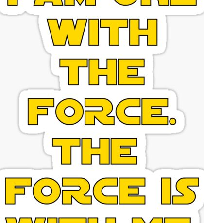 Star Wars Rogue One Quote Chirrut Imwe Donnie Yen The Force Sticker