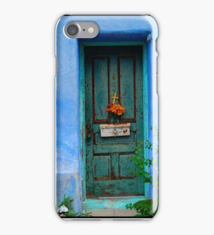 Barrio Viejo Door iPhone Case/Skin