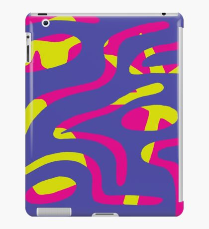 Double Reality (Grape) iPad Case/Skin