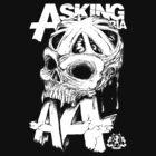 Asking Alexandria England Skull  tshirt and hoodie by lu2k