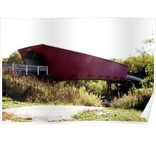 Madison County Covered Bridge Poster