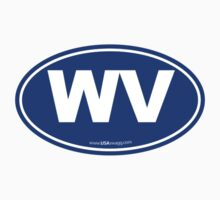 Washington State WA Euro Oval BLUE by USAswagg2