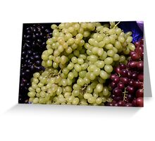 "the grapes in ""racial"" harmony... Greeting Card"