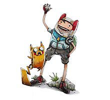 PokeFinn & PokeJake Photographic Print