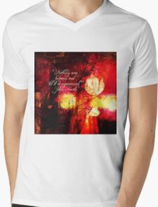 Nothing Ever Becomes Real Mens V-Neck T-Shirt