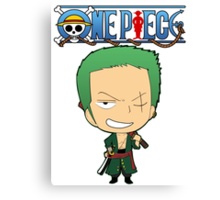 Custom Roronoa Zoro new image Canvas Print