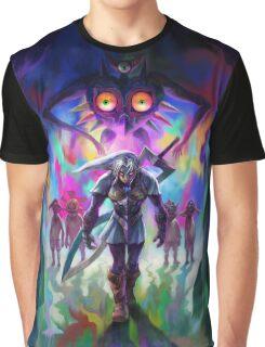 Fierce Deity Majora's Mask Graphic T-Shirt