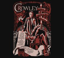 Crowley Woodcut by Tracey Gurney