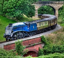 60007 Sir Nigel Gresley Locomotive by © Steve H Clark Photography