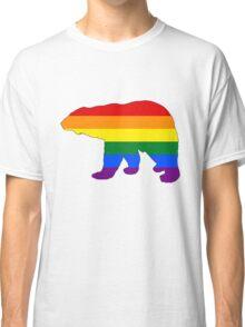 Rainbow Polar Bear Classic T-Shirt
