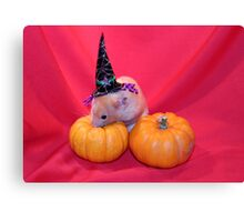 Crunchie Ready for Halloween Canvas Print
