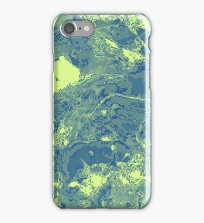 Unique marble texture. iPhone Case/Skin