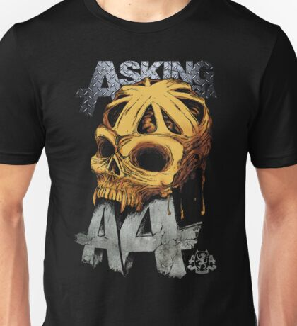 Asking Alexandria Colored England Skull  tshirt and hoodie Unisex T-Shirt