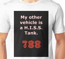 My other vehicle is a H.I.S.S. Tank Sticker Alternative Unisex T-Shirt