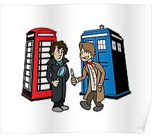 Doctor Who and Sherlock Poster
