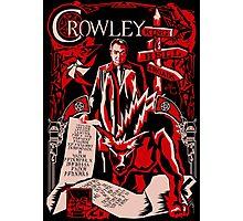 Crowley Woodcut Photographic Print