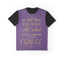 All Men Are Created Equal Graphic T-Shirt
