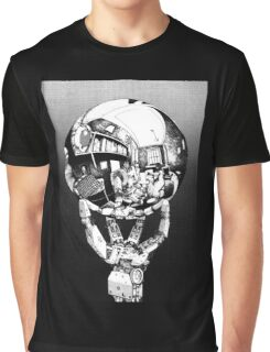 Sci Fi Anime Escher tribute Graphic T-Shirt
