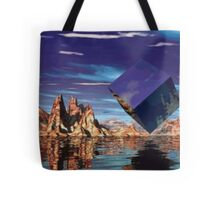 World out of Wack Tote Bag
