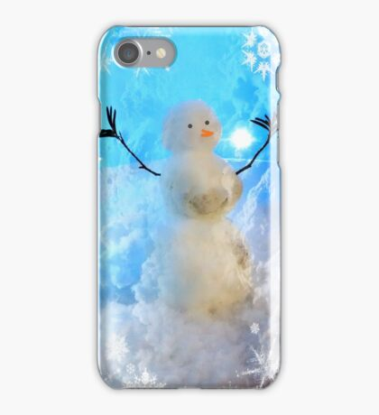 The Snow Maker at work iPhone Case/Skin