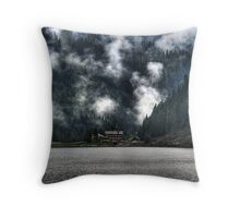 Gosausee Throw Pillow