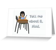 Bad Tina Greeting Card