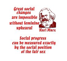 Karl Marx on Women by CulturalView