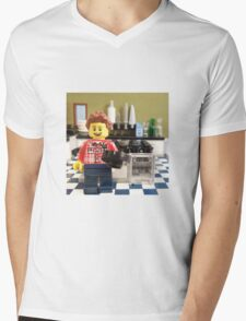 Jamie Oliver Mens V-Neck T-Shirt