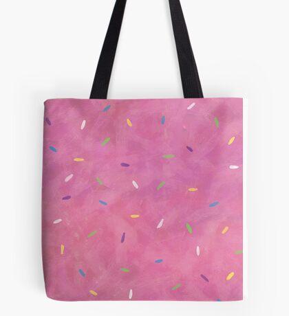 Pink Frosting Sprinkles Tote Bag