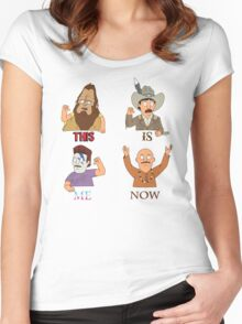 THIS IS ME NOW Women's Fitted Scoop T-Shirt