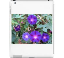 Purple Petunias iPad Case/Skin