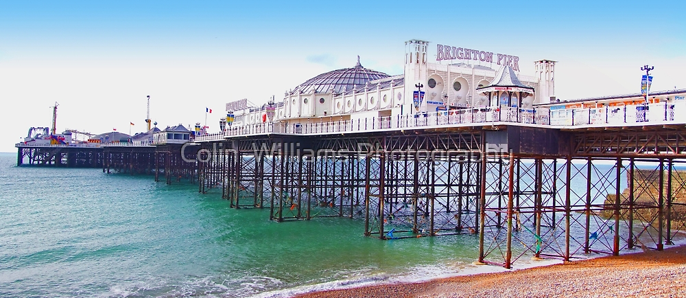 """Brighton Pier - The """"Palace Pier"""" by Colin  Williams Photography"""