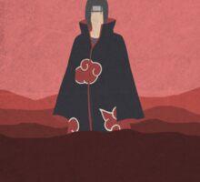 Naruto itachi minimalist Sticker
