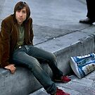 Jason Schwartzman Kicks it to the Curb by Nick Koudis