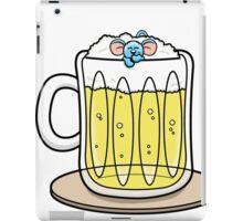 HeinyR- Blue Mouse Drunk iPad Case/Skin