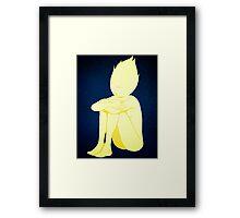 Loney Star Framed Print